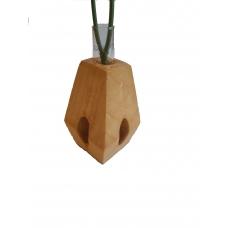 Vaza din lemn TIP A cu eprubeta 15ml