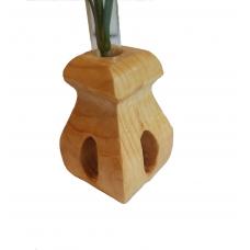 Vaza din lemn TIP C cu eprubeta 15ml