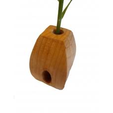 Vaza din lemn TIP D cu eprubeta 5ml