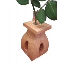 Vaza din lemn TIP E cu eprubeta 15ml