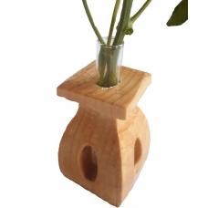 Vaza din lemn TIP F cu eprubeta 15ml