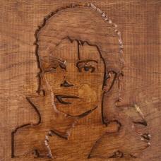 Tablou sculptat in lemn MJ