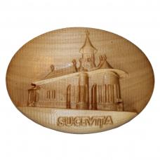 Tablou sculptat in lemn Manastirea Sucevita