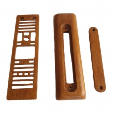 Carcasa din lemn pentru telecomenzi