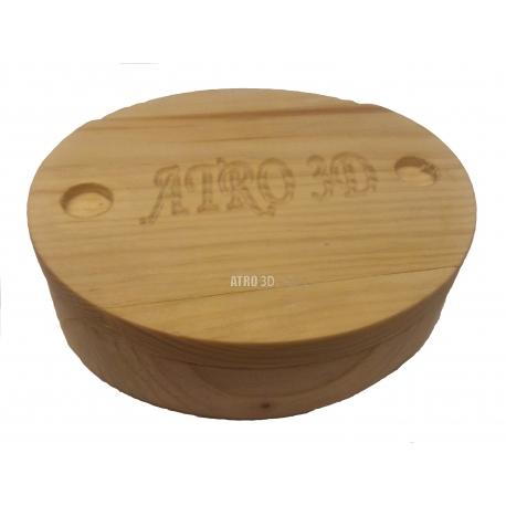 Cutie din lemn de brad