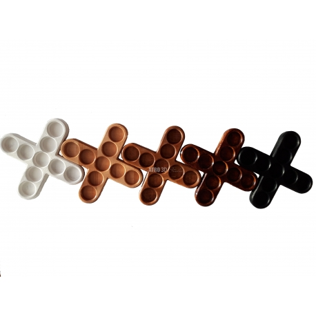Suport lumanari in forma de cruce